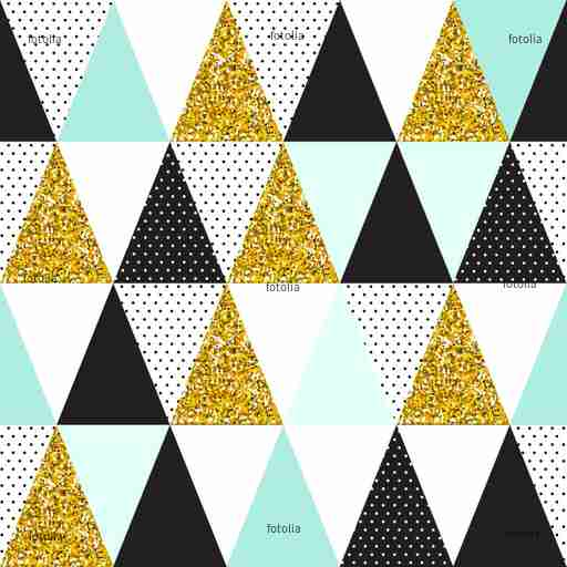 Zobacz obraz Seamless vector pattern with gold glitter