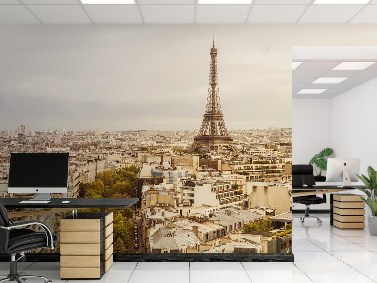 Fototapeta - Panorama Paryża - fototapeta.shop