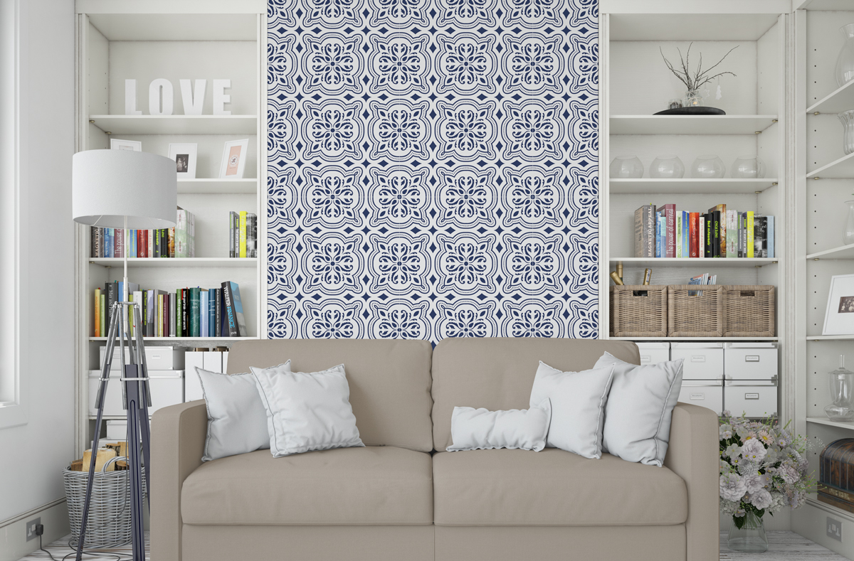 Tapeta - Marokańska mozaika - fototapeta.shop