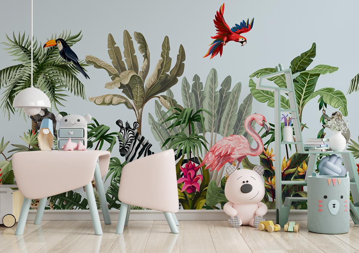 Fototapeta - Egzotyczne zwierzęta - fototapeta.shop