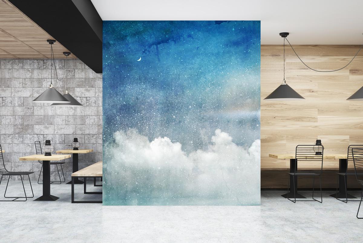Fototapeta - Wysoko w chmurach - fototapeta.shop