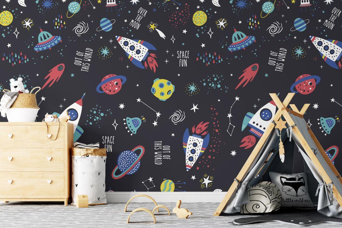 Tapeta - Kosmiczna podróż - fototapeta.shop