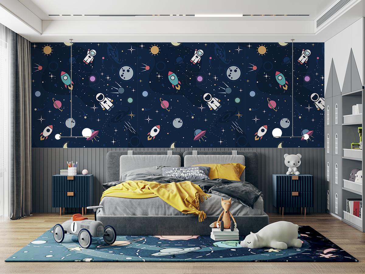 Tapeta - Astronauta w podróży - fototapeta.shop