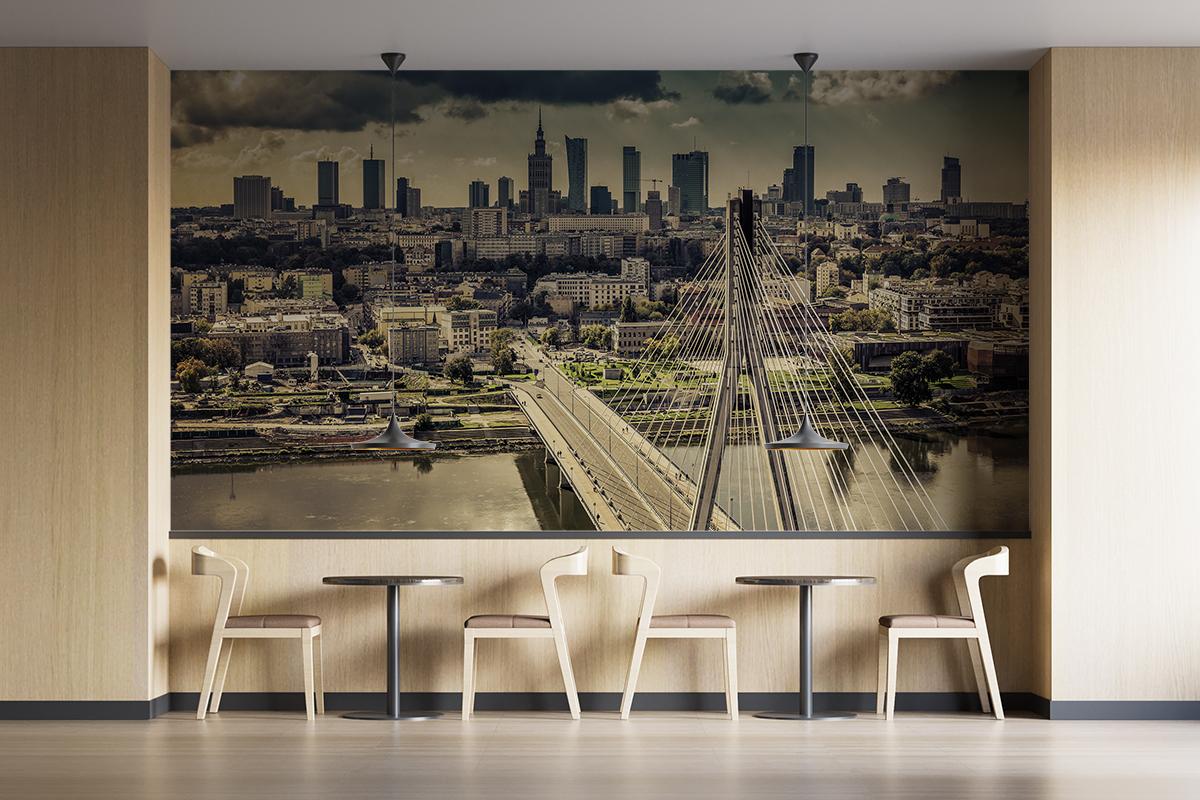 Fototapeta - Warszawska panorama - fototapeta.shop