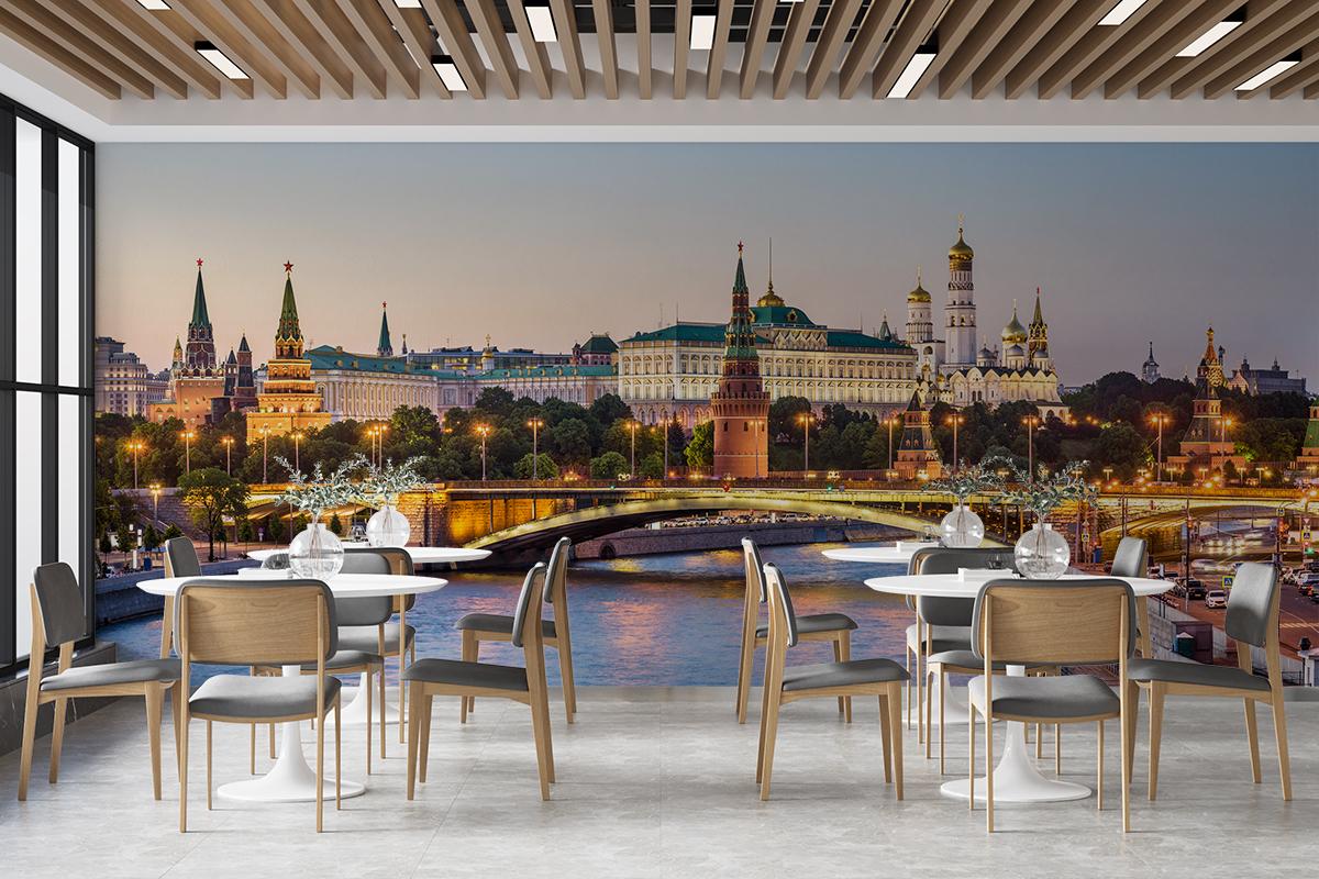 Fototapeta - Panorama Moskwy - fototapeta.shop