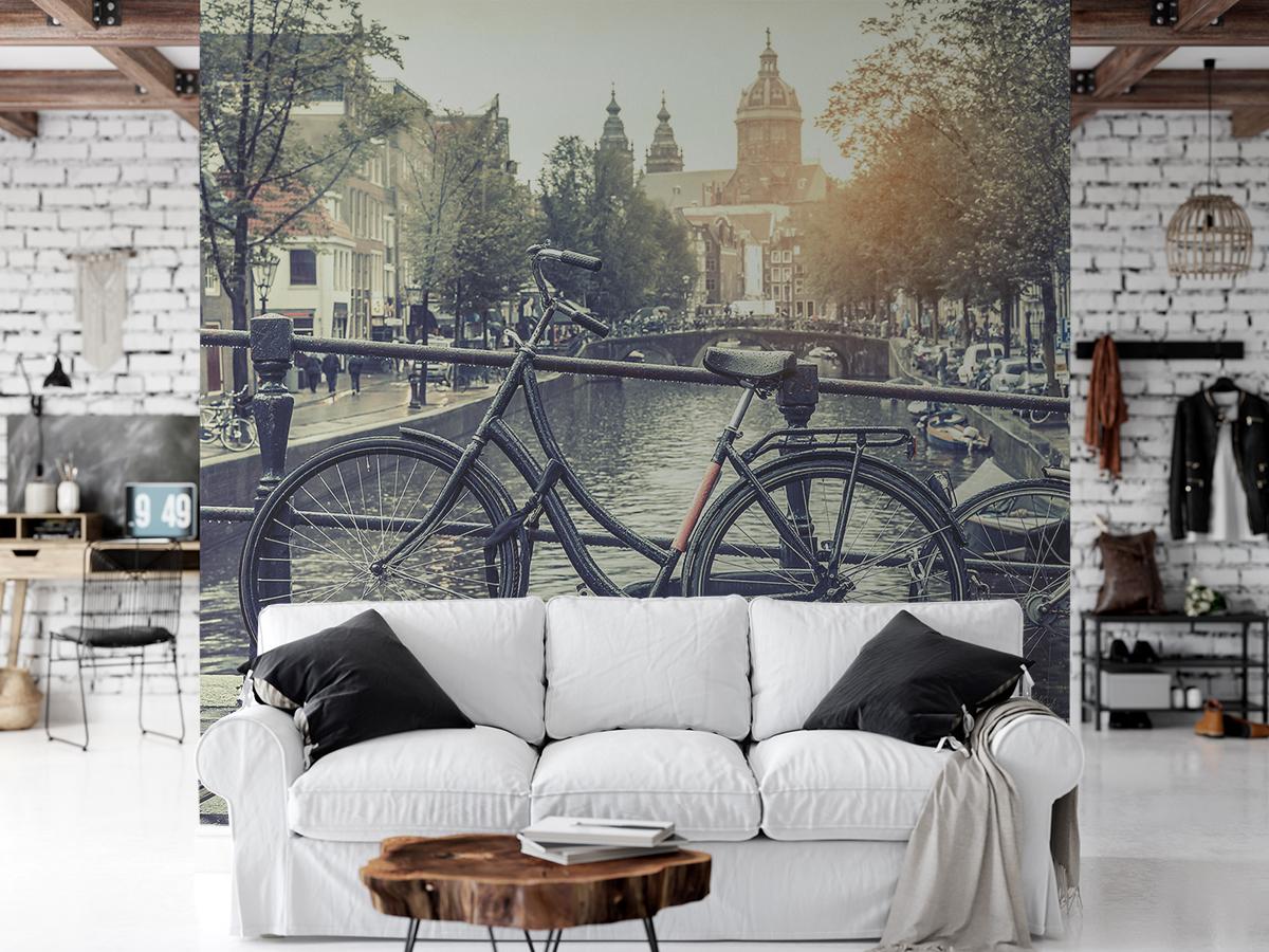 Fototapeta - Rower w Amsterdamie - fototapeta.shop