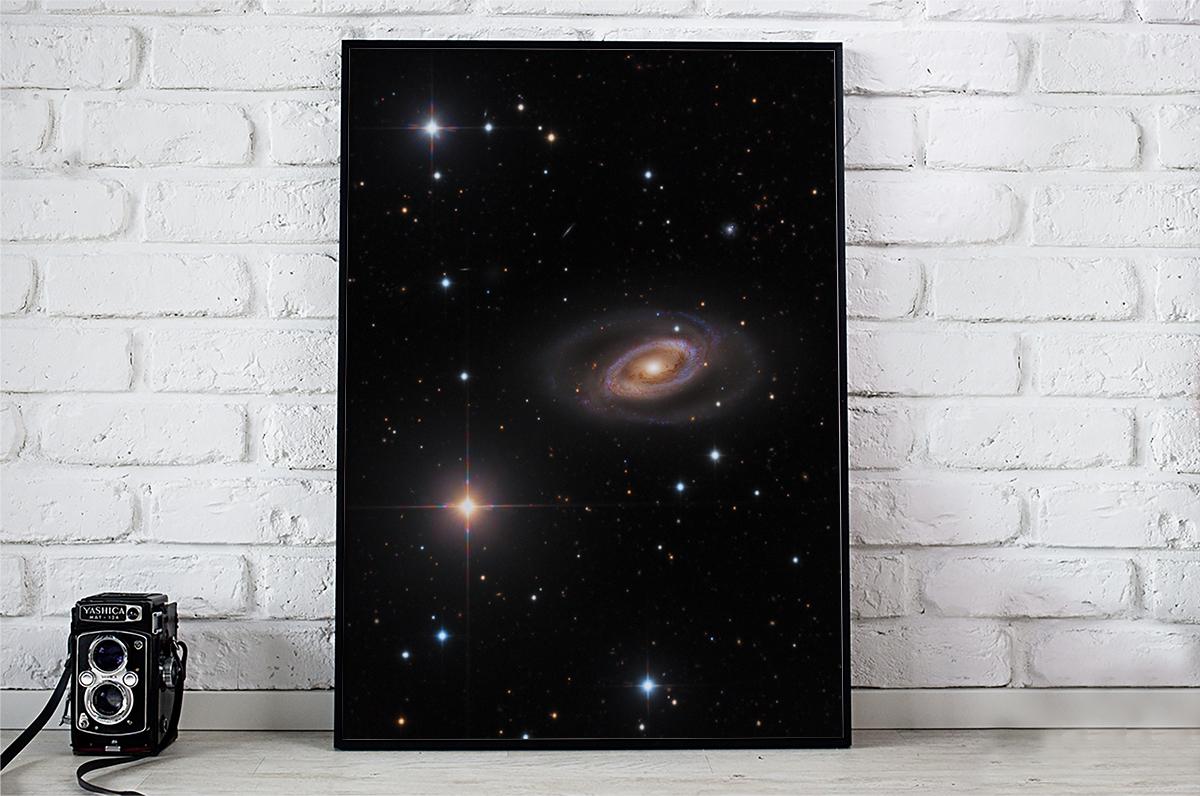 Plakat - Galaktyka spiralna - fototapeta.shop