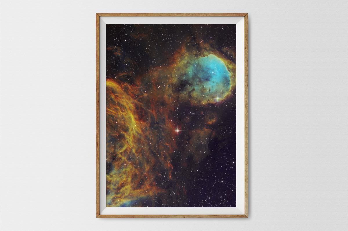 Plakat - Międzygwiezdne obłoki w Kilu - fototapeta.shop