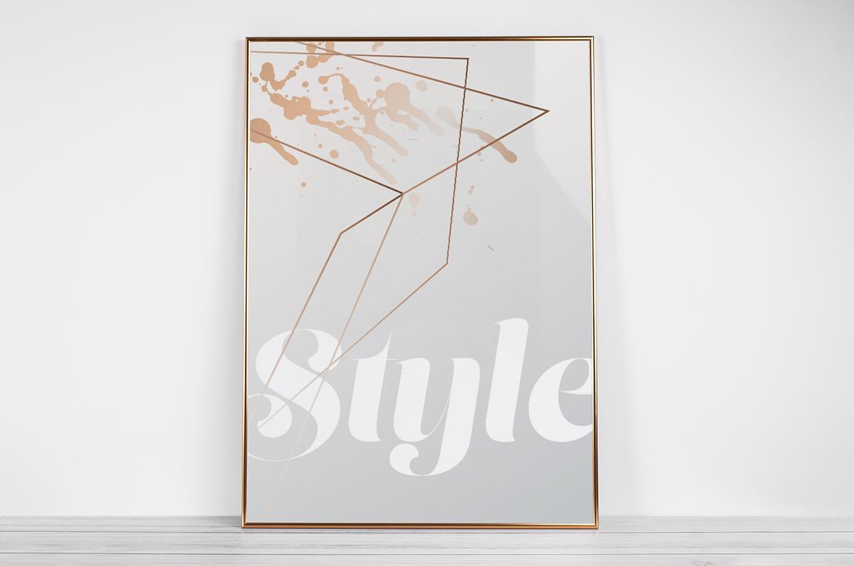 Plakat - Napis Style  - fototapeta.shop