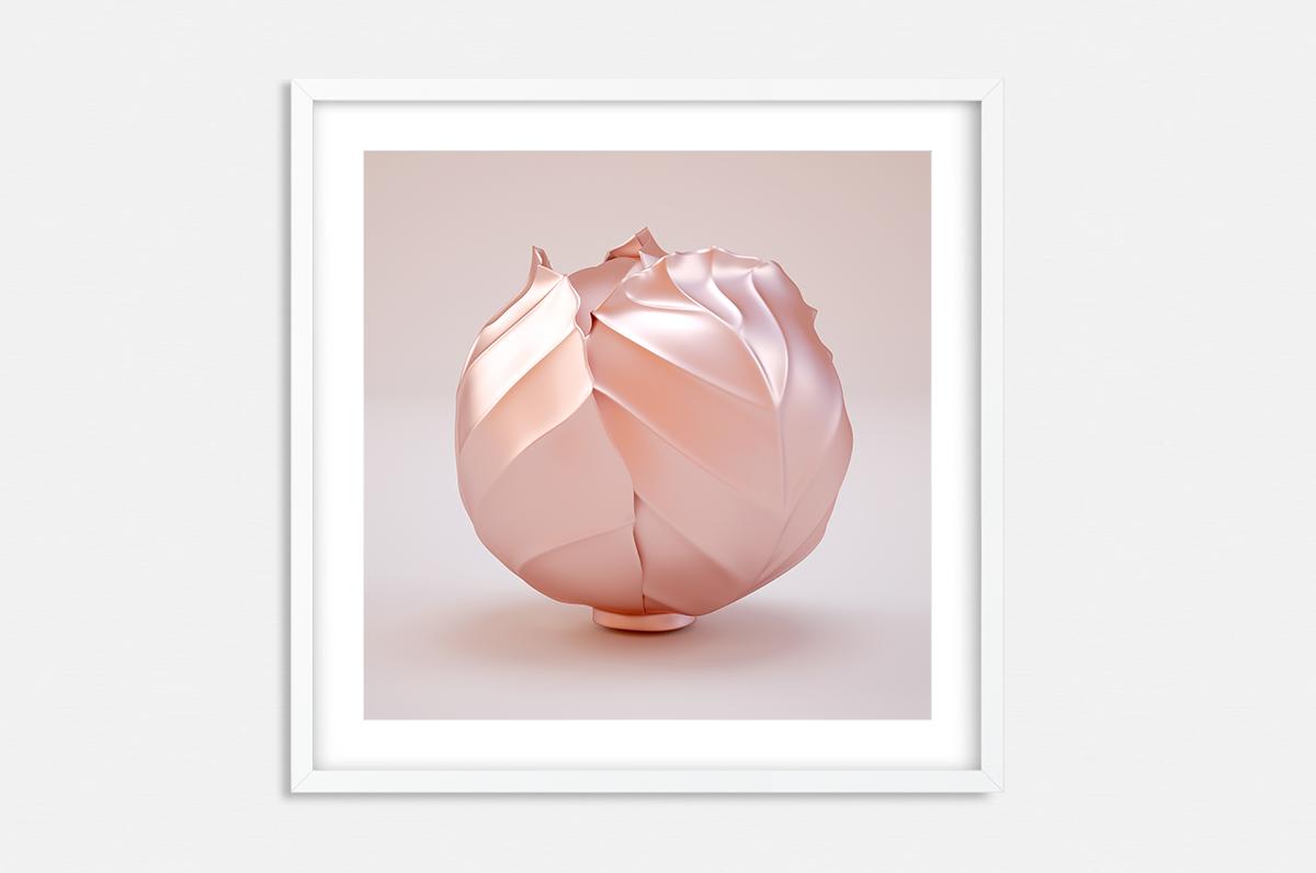 Plakat - Różowa główka kapusty - fototapeta.shop
