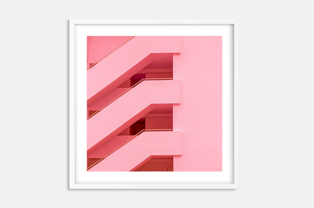 Plakat - Pop-art schody - fototapeta.shop