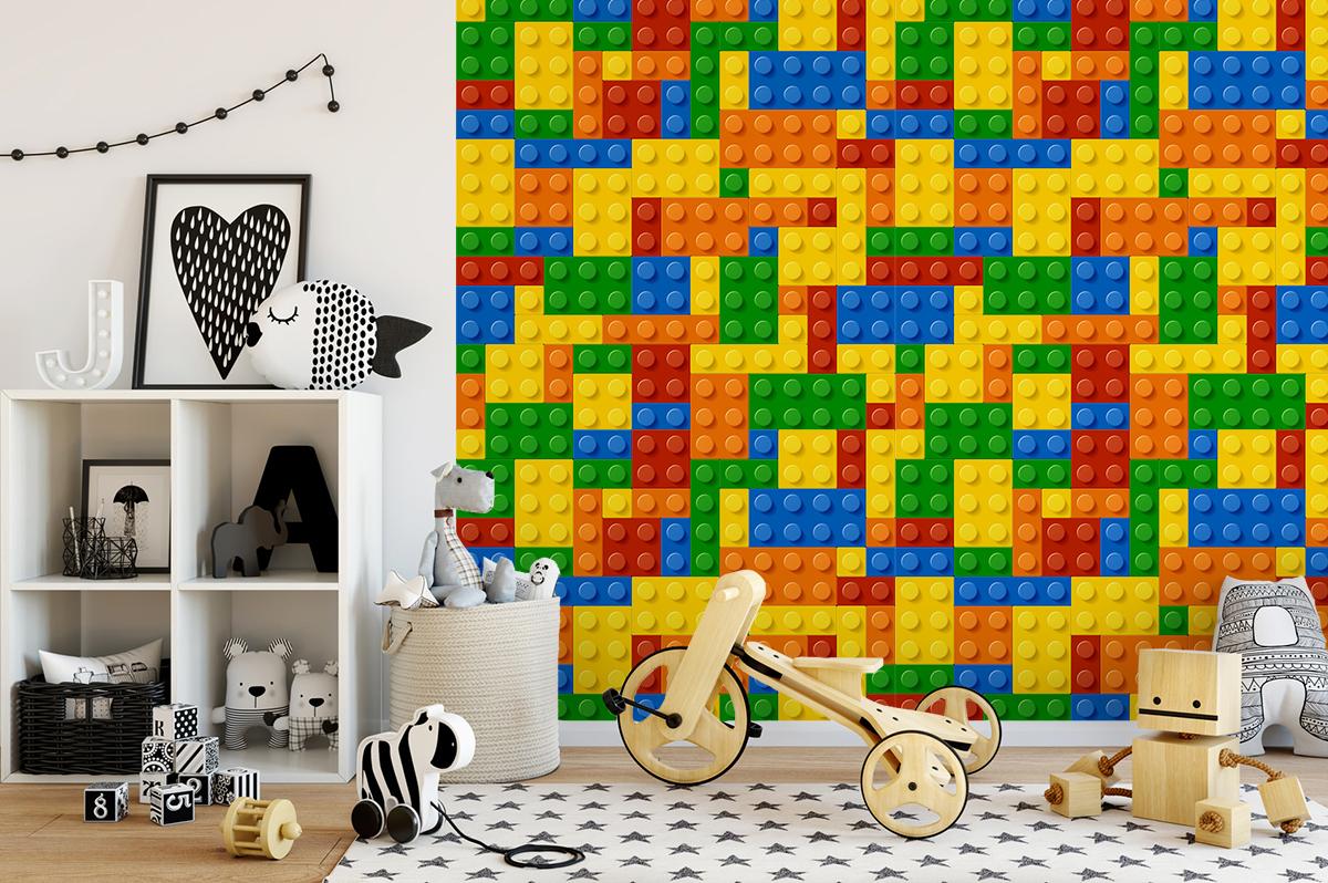 Tapeta - Klocki Lego - fototapeta.shop