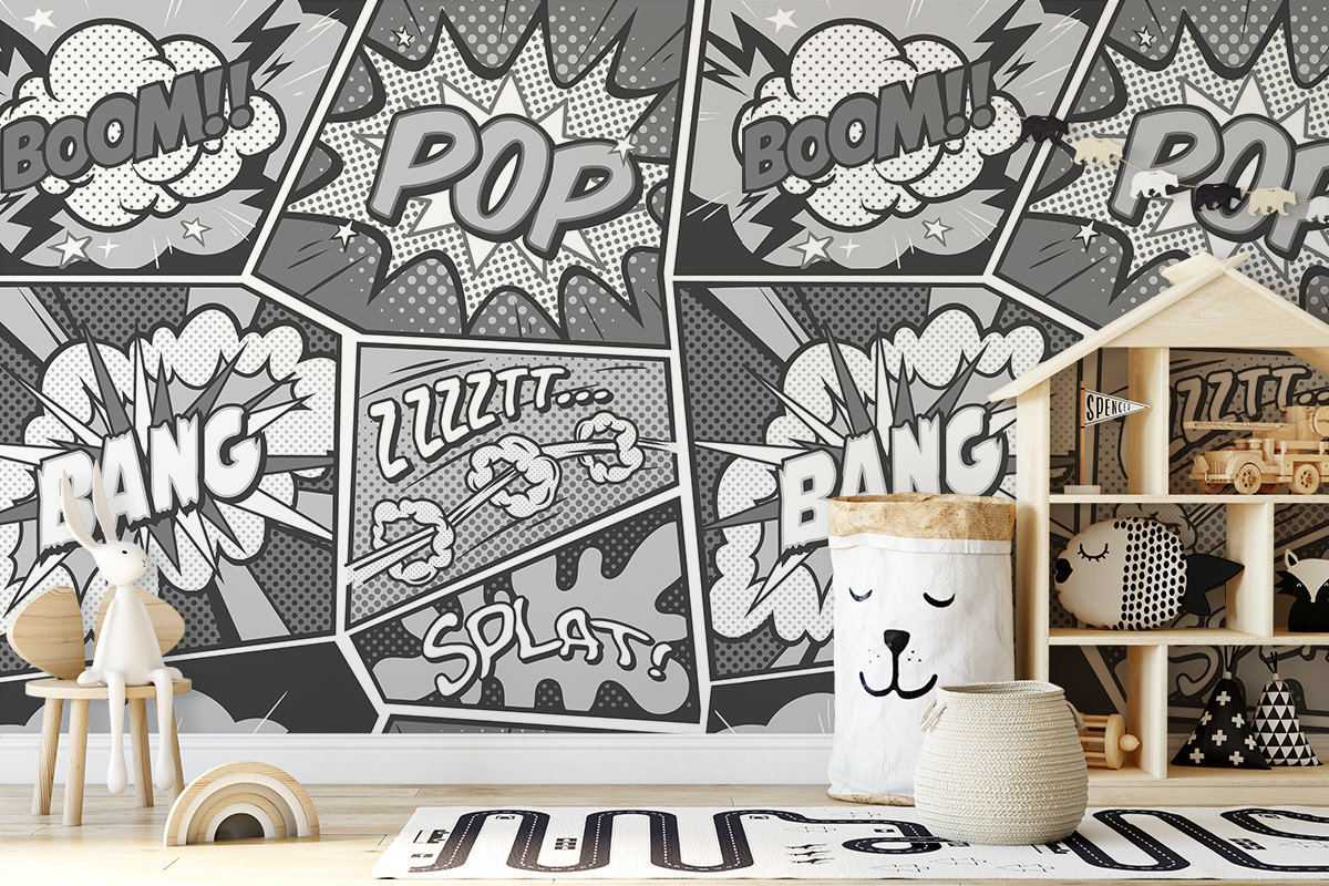 Tapeta - Pop, Splash, Bang! - fototapeta.shop