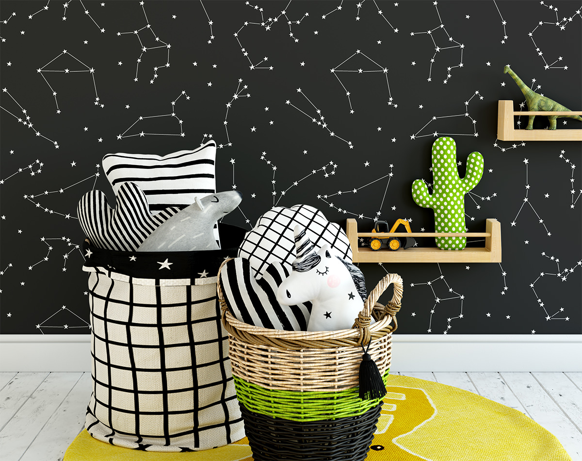 Tapeta - Konstelacje - fototapeta.shop