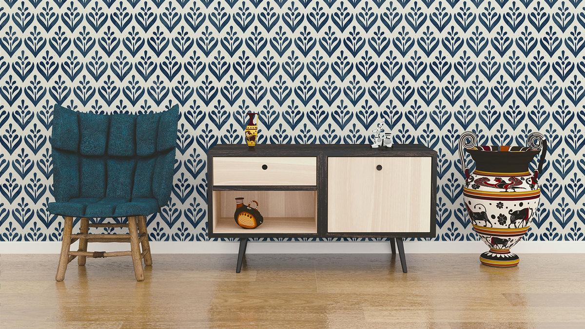 Tapeta - Malowane wałkiem - fototapeta.shop