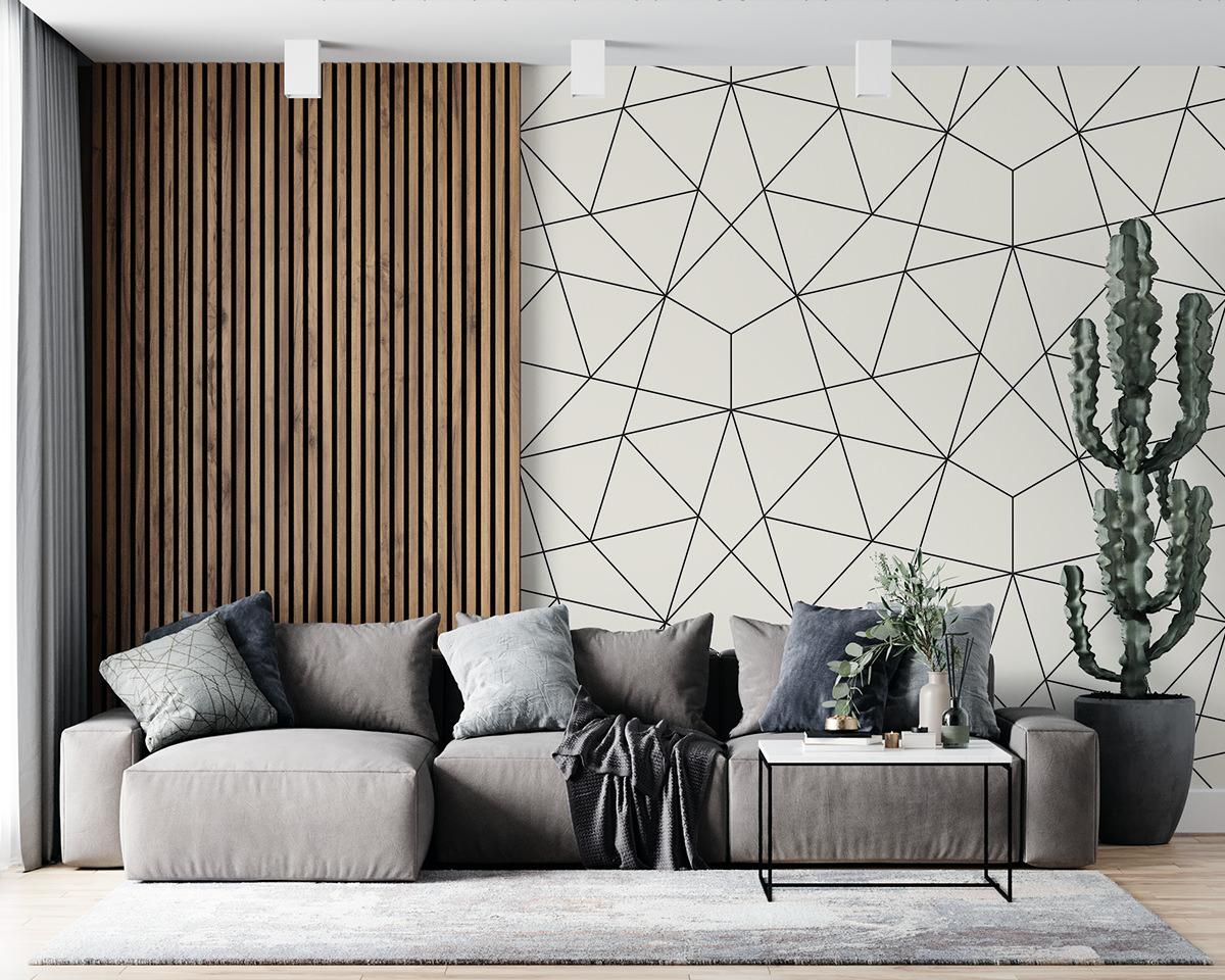 Tapeta - Geometryczny design - fototapeta.shop