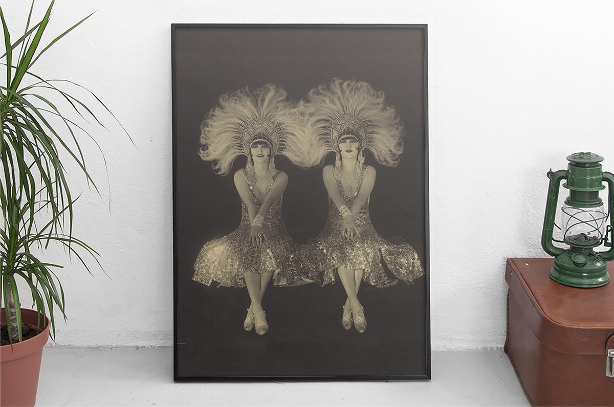 Plakat - Dolly sisters - Met Museum - fototapeta.shop