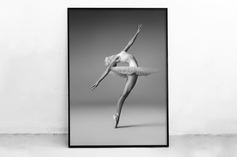 Plakat - Baletnica w tutu - fototapeta.shop