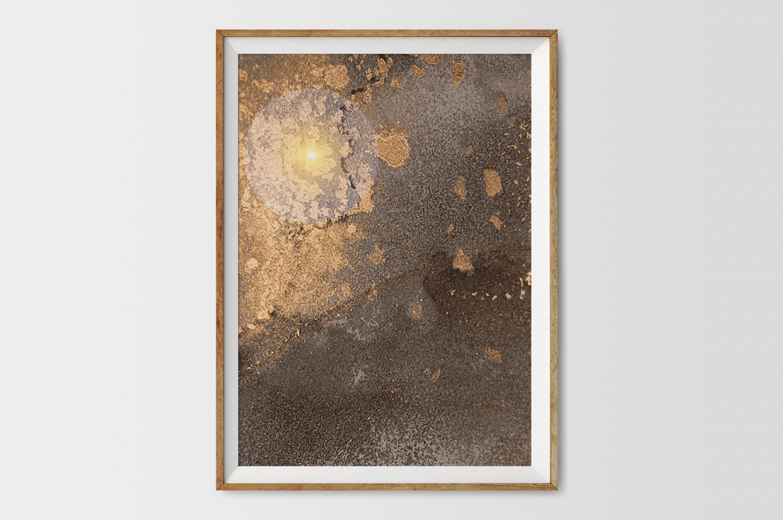 Plakat - Miedziane chmury - fototapeta.shop