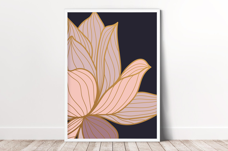 Plakat - Różowa lilia - fototapeta.shop