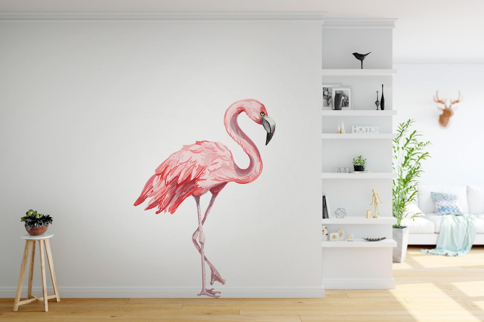 Naklejka - Flaming - fototapeta.shop