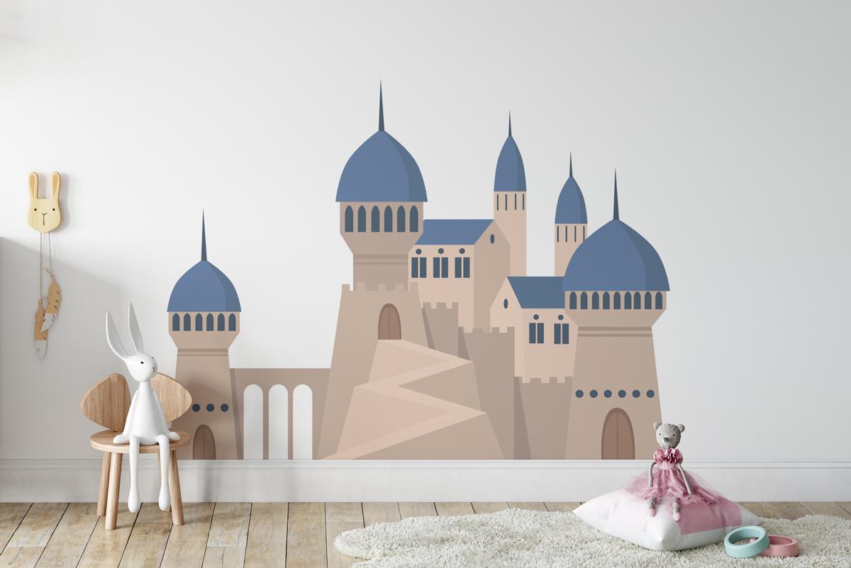 Naklejka - Orientalny zamek - fototapeta.shop