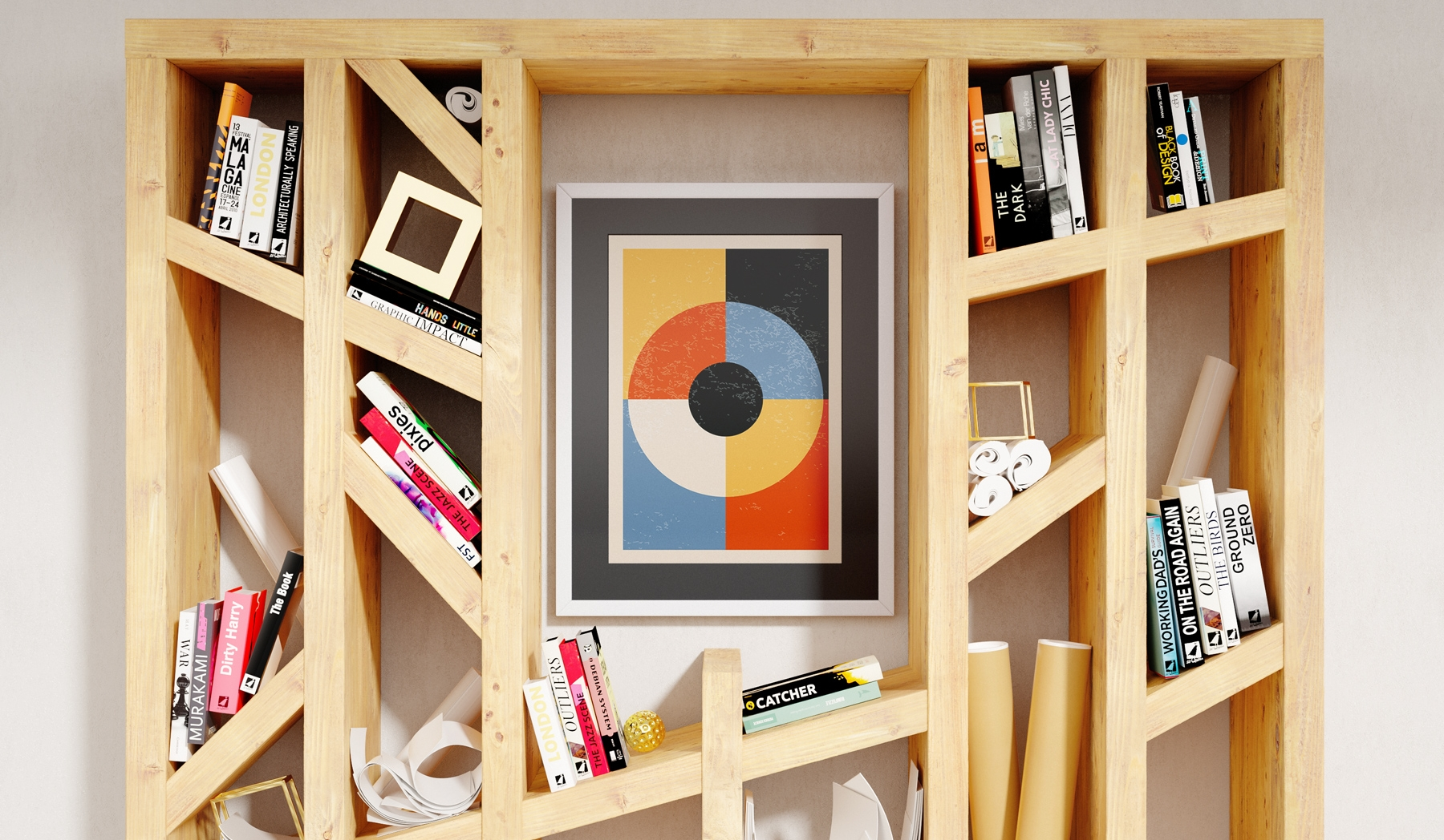 Plakat - Kolorowe koła - fototapeta.shop