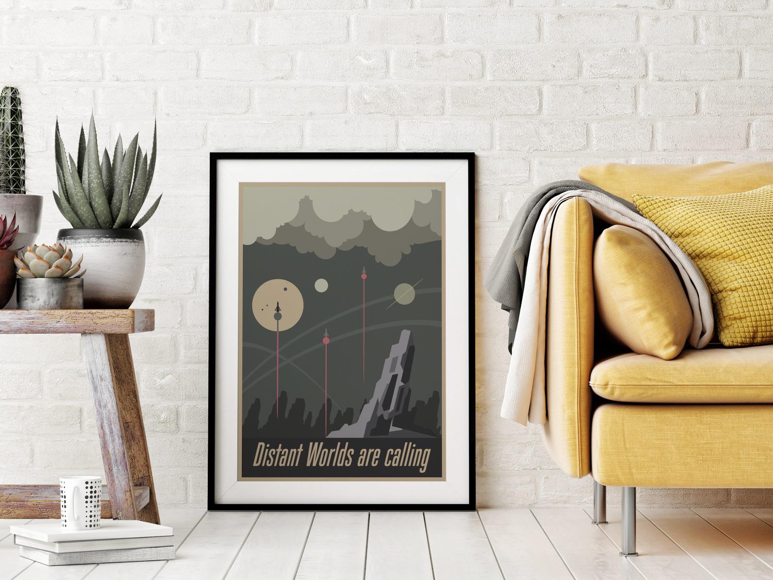 Plakat - Grafika start rakiety - fototapeta.shop